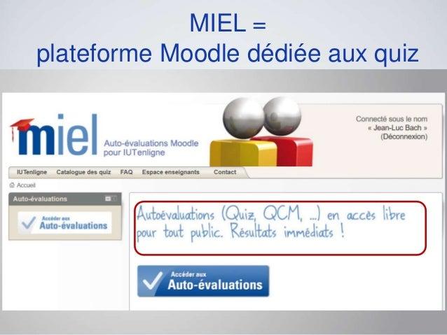 MIEL, une banque de quiz au service de la transition secondaire Slide 3