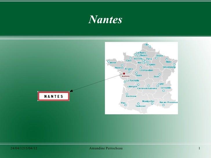 Nantes24/04/1215/04/12   Amandine Perrocheau   1