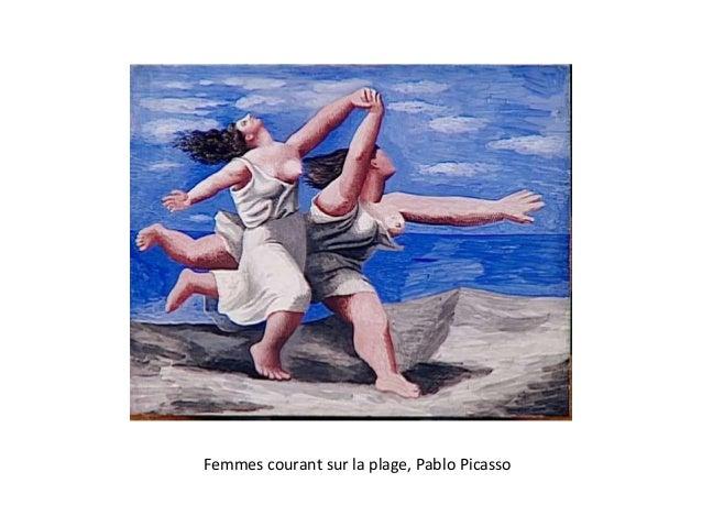 Femmes courant sur la plage, Pablo Picasso