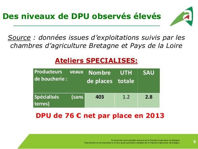Impact de la pac 2015 2019 pour les exploitations de veaux - Chambre regionale d agriculture pays de la loire ...