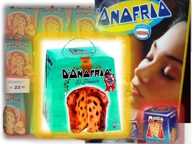 Amenaza de productos sustitutos<br />Ciertas marcas de panetones, pueden amenazar en la compra de panetones DONOFRIO.<br />