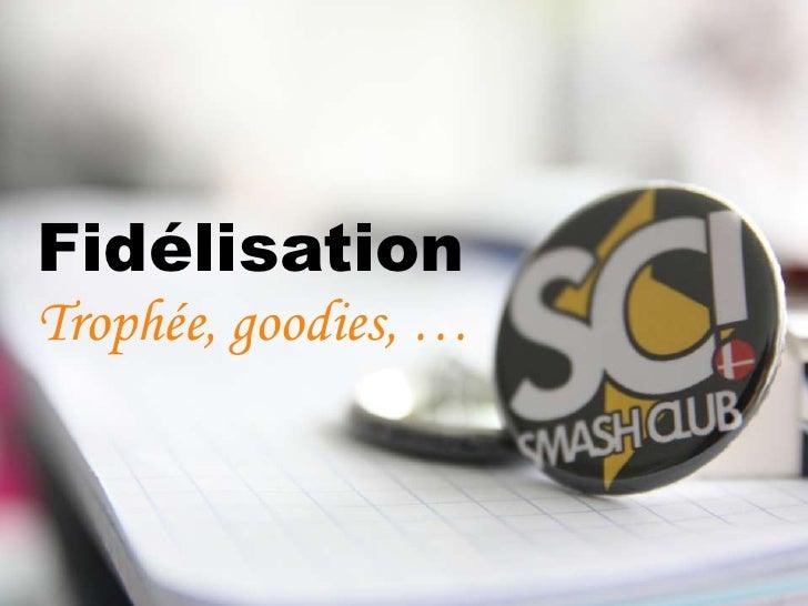 Diaporama SMASH CLUB