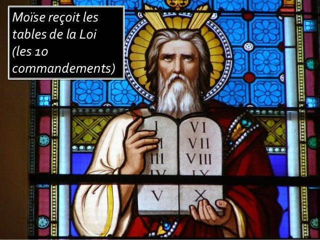 Diaporama 10 commandements glise de bo n - Les tables des 10 commandements ...