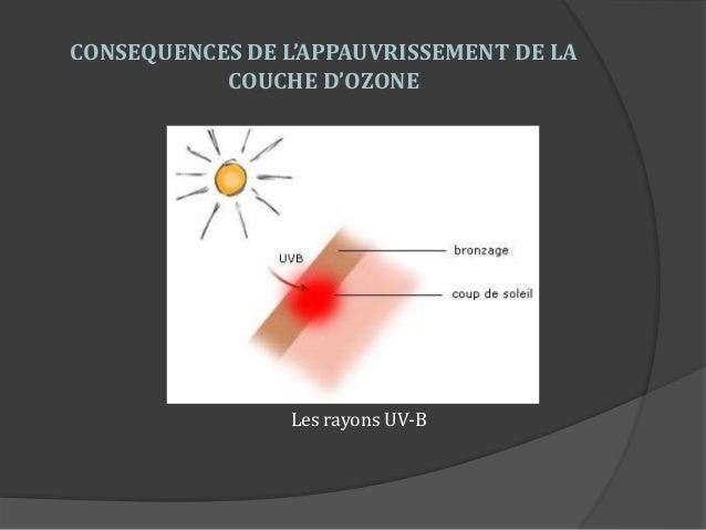 Pr sentation lyc e episcopal saint etienne equipe 1 - Consequences de la destruction de la couche d ozone ...