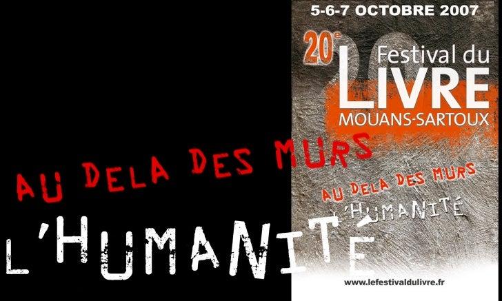 Diaporama Conférence de Presse Festival du Livre de Mouans-Sartoux 2007