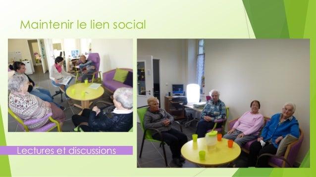 Maintenir le lien social  Lectures et discussions