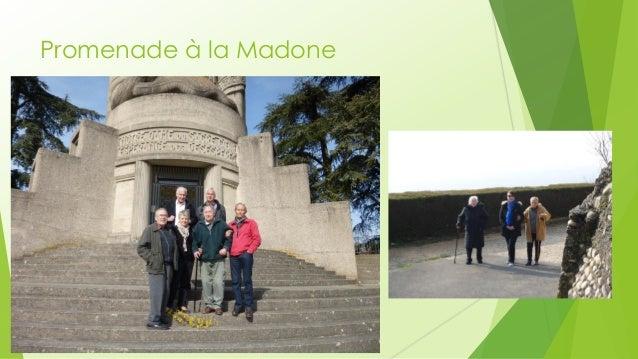 Promenade à la Madone