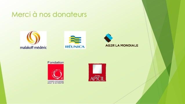 Merci à nos donateurs