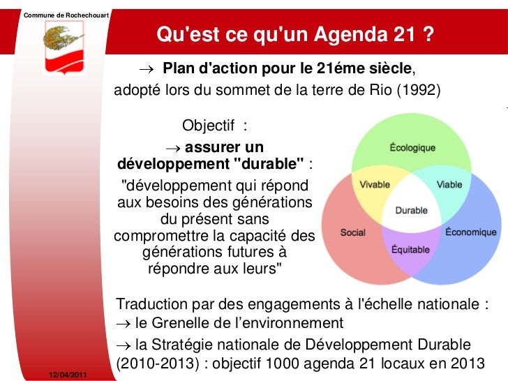 Diaporama Agenda 21 Comité de Pilotage Slide 2