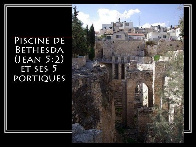Arch ologie ancien et nouveau testament for Piscine de bethesda