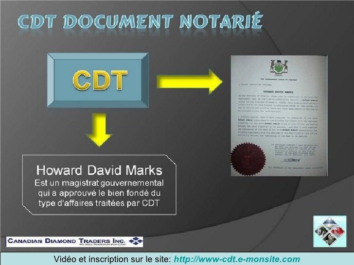 Diaporama Cdt Slide 3