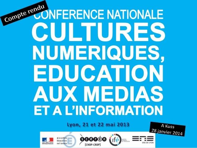Faire le point sur les questions d'éducation aux médias et à l'information (EMI) dans notre monde numérique  Éclairer la ...