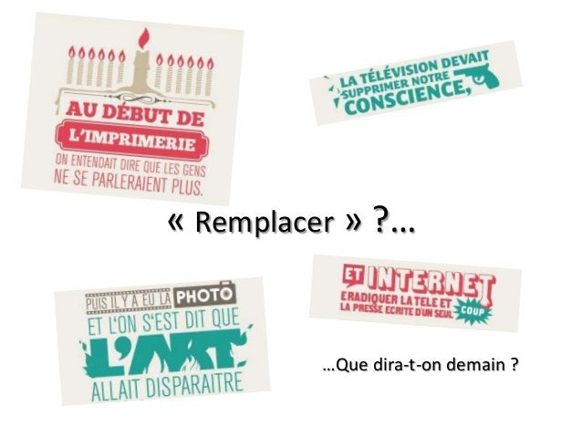 « Remplacer » ?… …Que dira-t-on demain ?