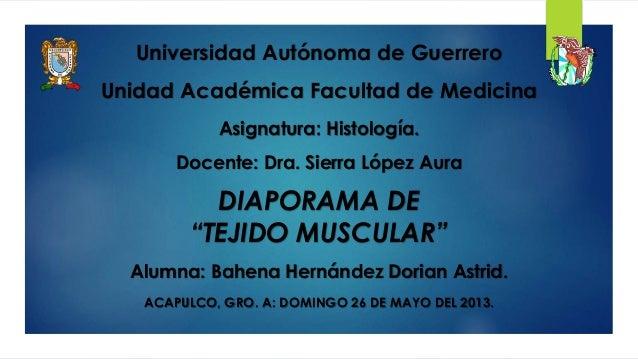 Alumna: Bahena Hernández Dorian Astrid. ACAPULCO, GRO. A: DOMINGO 26 DE MAYO DEL 2013. Universidad Autónoma de Guerrero Un...