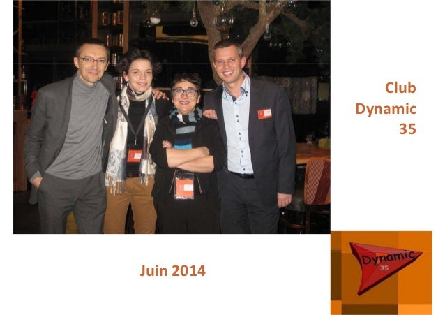 Club  Dynamic 35 Juin 2014