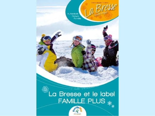 I.   Le label Famille Plus, c'est quoi? II. Le label Famille Plus à La Bresse :     de la réflexion à l'obtention     III...
