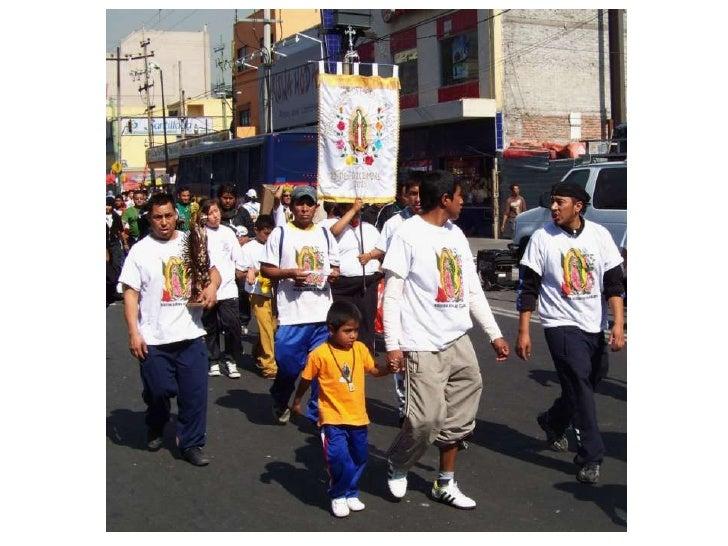Fête de la Vierge Mexico