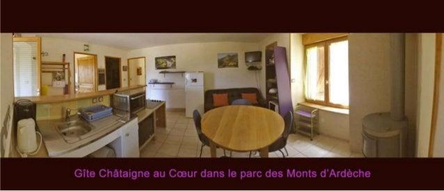 Diaporama Gite Châtaigne au cœur en Ardèche