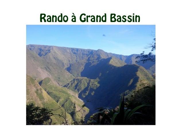 Rando à Grand Bassin