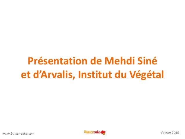 Enjeux numériques de l'agriculture: interview Mehdi Siné, Arvalis par Youmna Ovazza Slide 3