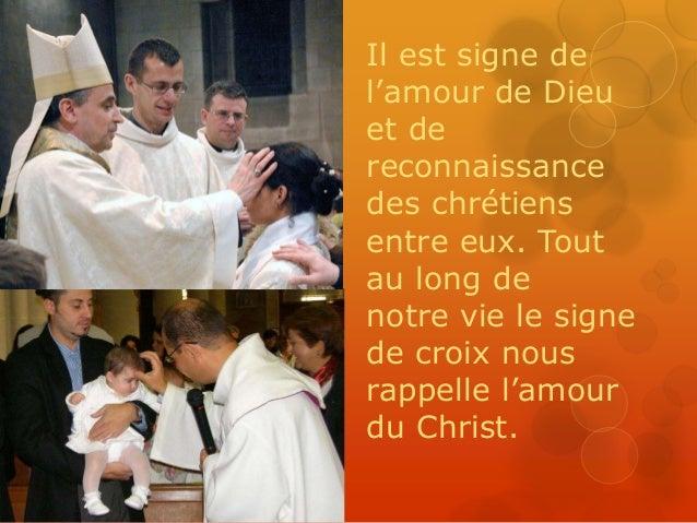 Les symboles du baptême