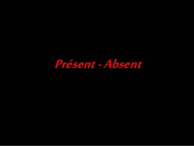 Présent-Absent