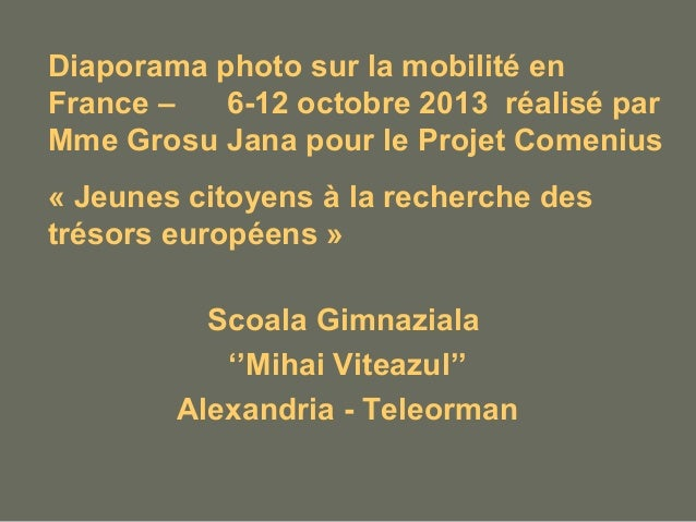 diaporama photo sur la mobilit u00e9 en france
