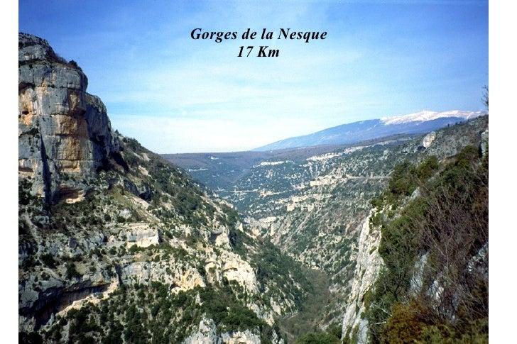 Gorges de la Nesque      17 Km