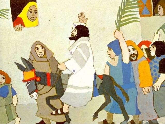 Diaporama - de l'entrée à Jérusalem au repas de la Pâque