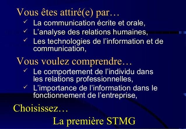 Les technologies de linformation et de la communication