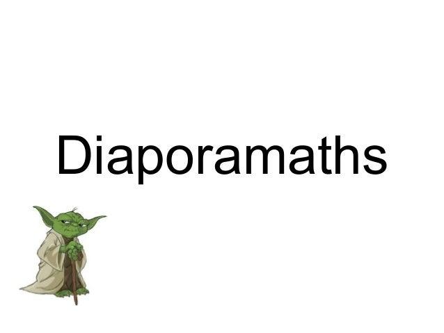 Diaporamaths