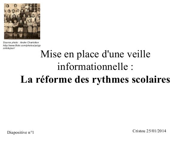 Sourcephoto:AndreCharlotton http://www.flickr.com/photos/polyp ointdujour/  Mise en place d'une veille informationnel...