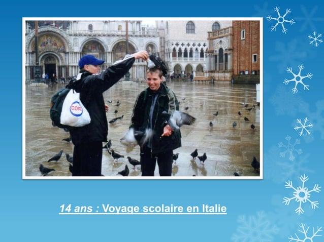 14 ans : Voyage scolaire en Italie