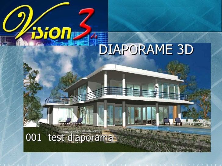 DIAPORAME 3D 001  test diaporama