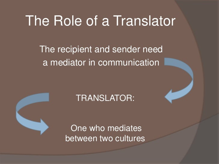 translation communication of two cultures The answer to this dilemma lies in whether there is a real communication or culture barrier with the the translation is not always two sons as part of a three.