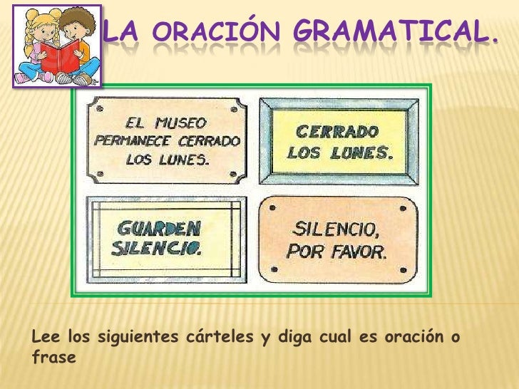 Diapos La Oracion Gramatical