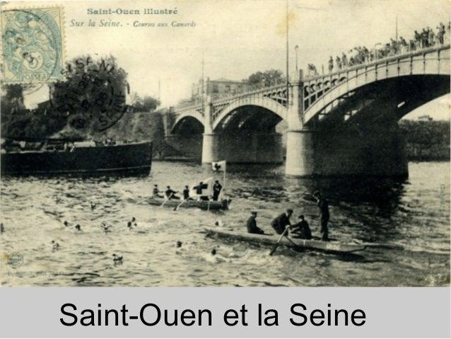 Saint-Ouen et la Seine