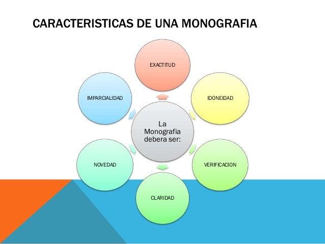 Diaposistivas Del Video La Monografia