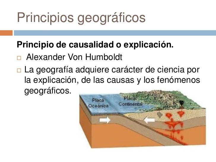 Principios geograficos