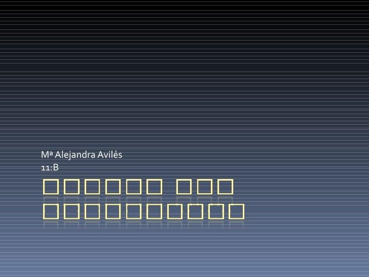 Mª Alejandra Avilés  11:B