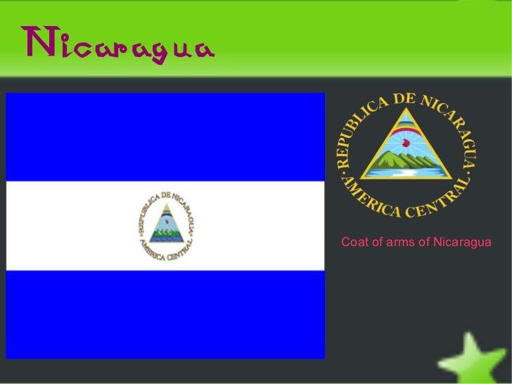 Nicaragua                Coat of arms of Nicaragua