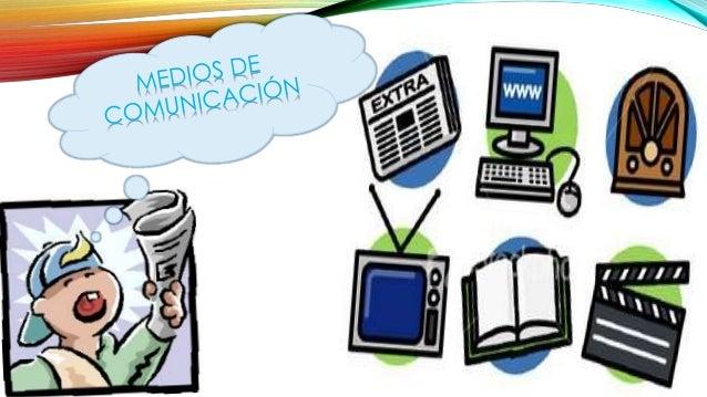 ¿QUÉ SON? Se denomina medios de comunicación a todos aquellos instrumentos, canales o formas de trasmisión de la informaci...