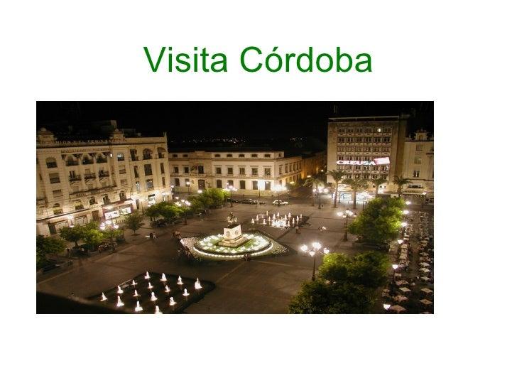 Visita Córdoba