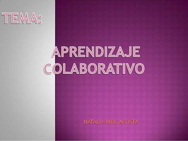  El aprendizaje colaborativo es un sistemade interacciones cuidadosamente diseñadoque organiza e induce la influencia rec...