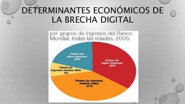 DETERMINANTES ECONÓMICOS DE LA BRECHA DIGITAL