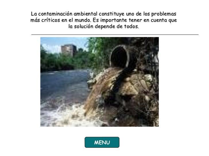 Contaminacion En Ingles