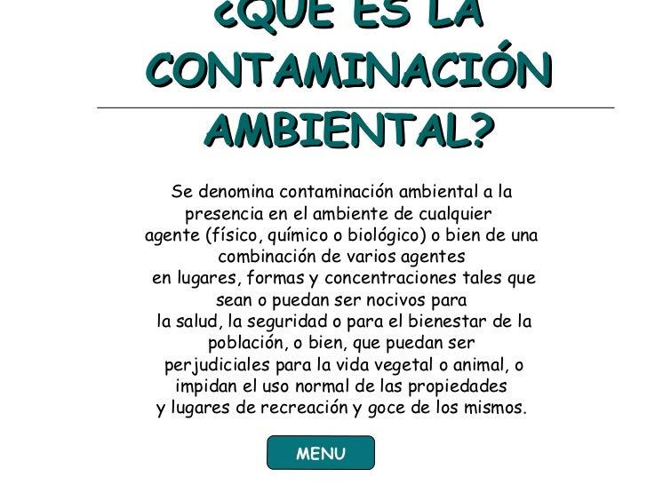 Diapositiva Contaminacion Ambiental Slide 3