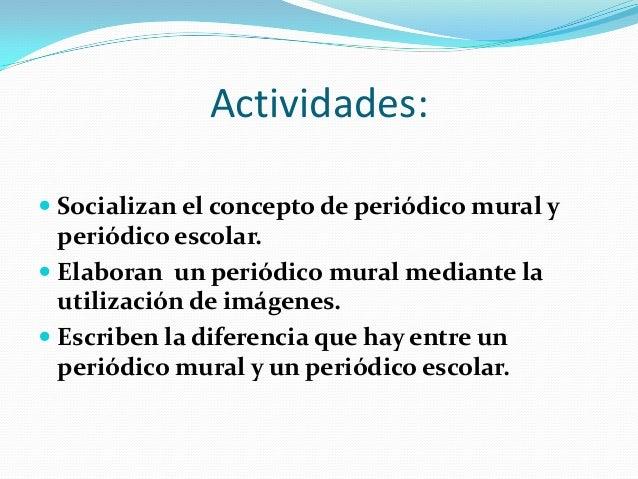Concepto De Periodico Mural Of Diapositiva De Ana Victoria Ovalles