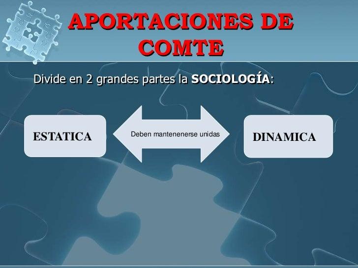 Diapositiva de augusto comte exposicion for Cuales son las partes de un periodico mural