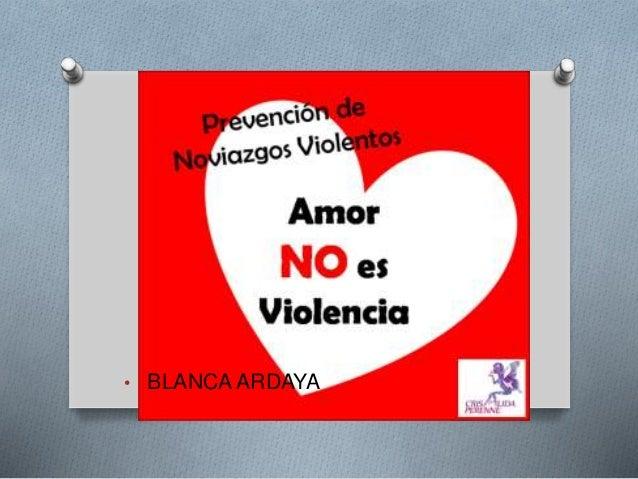 • BLANCA ARDAYA